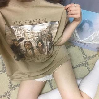 ロキエ(Lochie)のVintage native american Tshirt(Tシャツ(半袖/袖なし))