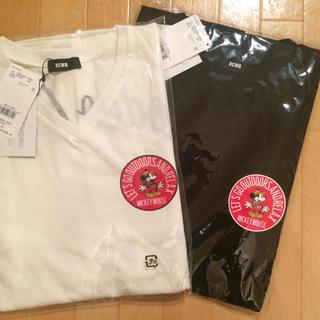 ロデオクラウンズワイドボウル(RODEO CROWNS WIDE BOWL)のロデオクラウンズ ワイドボウル ららぽーと横浜 限定 ミッキー  (Tシャツ(半袖/袖なし))