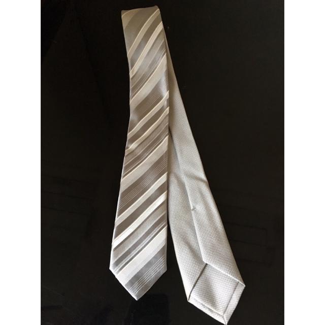 COMME CA MEN(コムサメン)のコムサメン ネクタイ 1本で2デザイン メンズのファッション小物(ネクタイ)の商品写真