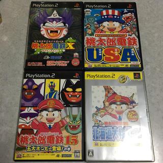 プレイステーション2(PlayStation2)のPS2ソフト 桃鉄X.USA.15.16(家庭用ゲームソフト)