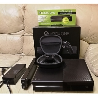 エックスボックス(Xbox)のXBOX ONE Elite & 追加SSHD 1TB & 純正品バッテリー(家庭用ゲーム機本体)