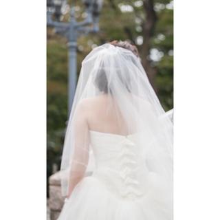 ヴェラウォン(Vera Wang)のトリートドレッシング3mベール(ヘッドドレス/ドレス)