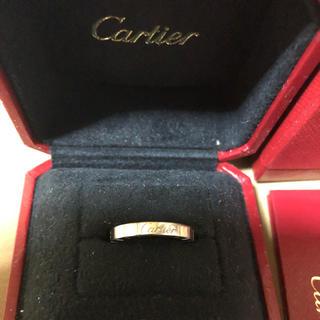 カルティエ(Cartier)のカルティエラニエールリングK18WG(リング(指輪))