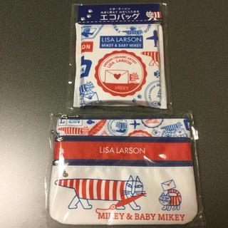 リサラーソン(Lisa Larson)の郵便局限定 リサラーソン エコバッグとポーチ(エコバッグ)