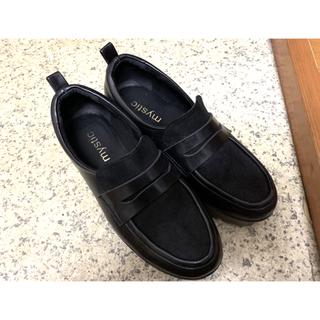 ミスティック(mystic)のmystic 厚底ロ-ファ-(ローファー/革靴)