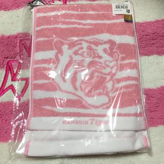 ハンシンタイガース(阪神タイガース)の阪神タイガース キラキララメマフラータオル新品未使用(応援グッズ)