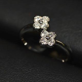 和光 リング クローバー ダイヤモンド (リング(指輪))