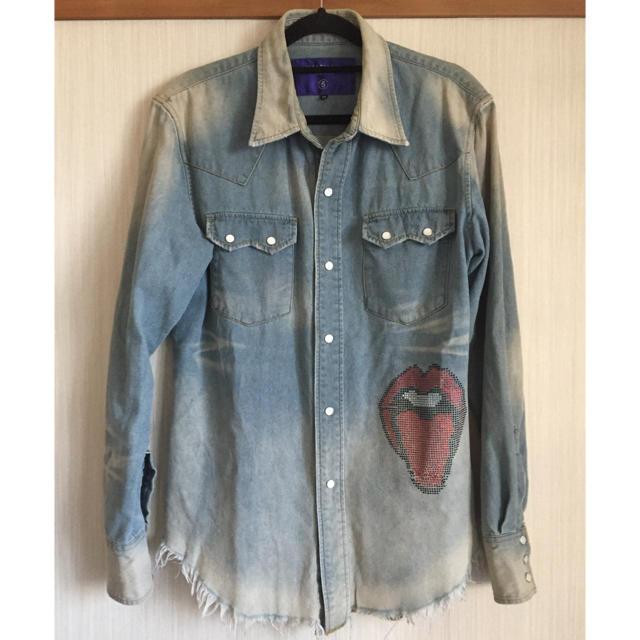 HALFMAN(ハーフマン)のHALFMANデニムシャツ メンズのトップス(シャツ)の商品写真
