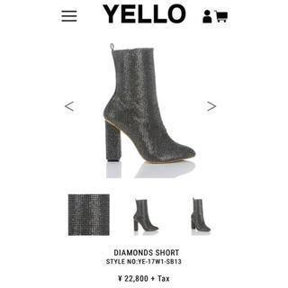 イエローブーツ(Yellow boots)のYELLO DIAMONDS SHORT(サンダル)