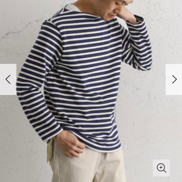 DOORS / URBAN RESEARCH(ドアーズ)のdoors ボーダーシャツ レディースのトップス(Tシャツ(長袖/七分))の商品写真