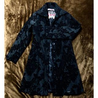 デシグアル(DESIGUAL)のブラックコート(ロングコート)