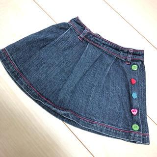 ベルメゾン(ベルメゾン)の美品★デニムスカート 70cm(スカート)