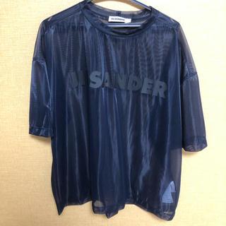 ジルサンダー(Jil Sander)のジルサンダー  シースルーTシャツ(Tシャツ/カットソー(半袖/袖なし))