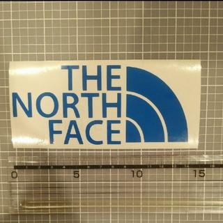 ザノースフェイス(THE NORTH FACE)のノースフェイス ステッカー 青(ステッカー)