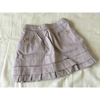 ジルスチュアート(JILLSTUART)のジルスチュアート★ 裾フリルスカート グレイッシュピンク90(スカート)