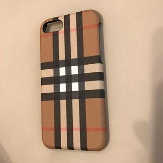 バーバリー(BURBERRY)の6月末迄♡新品♡バーバリー♡iPhoneケース(iPhoneケース)