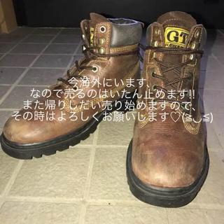 ジーティーホーキンス(G.T. HAWKINS)のGT-Hawkins ホーキンス 本革(ブーツ)