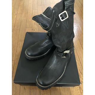 イサムカタヤマバックラッシュ(ISAMUKATAYAMA BACKLASH)のバックラッシュジャパンショルダーサイドジップブーツ(ブーツ)
