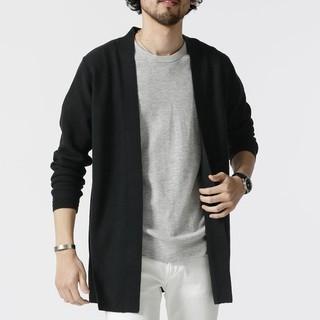 アベイル(Avail)の【新品未使用品】カーディガン ブラック XL メンズ(カーディガン)