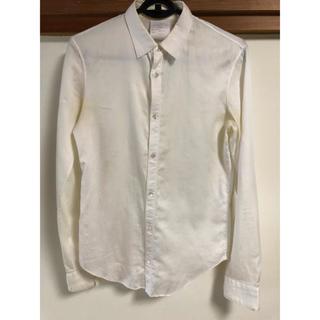 ユリウス(JULIUS)のユリウスAW 白シャツ JULIUS ドレスシャツ(シャツ)