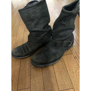イサムカタヤマバックラッシュ(ISAMUKATAYAMA BACKLASH)のバックラッシュスエードブーツ(ブーツ)
