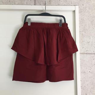 ローリーズファーム(LOWRYS FARM)のローリーズファーム スカート ミニ 赤(ミニスカート)