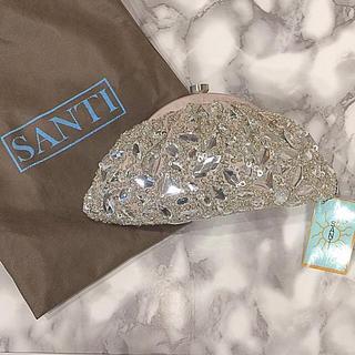 サンティ(SANTI)の新品 SANTI 2wayジュエルバッグ(クラッチバッグ)