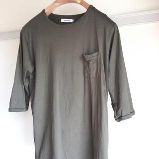 ノンネイティブ(nonnative)のnonnative ノンネイティブ 七分袖ポケットカットソー 1 オリーブ(Tシャツ/カットソー(七分/長袖))