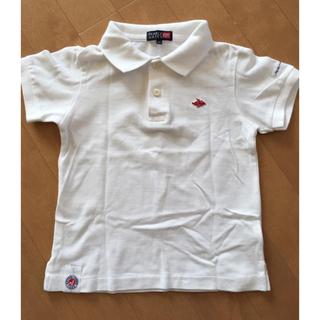 パーリーゲイツ(PEARLY GATES)のキッズ パーリーゲイツ  半袖ポロシャツ 100(Tシャツ/カットソー)