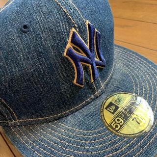 ニューエラー(NEW ERA)のニューエラのキャップ デニム素材ヤンキース(キャップ)