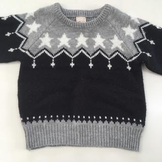 プティマイン(petit main)のセーター(ニット)