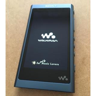 ウォークマン(WALKMAN)のSONY NW-A55 16GB ウォークマン ムーンリットブルー(ポータブルプレーヤー)