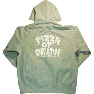 PIZZA OF DEATH ZIP HOODlE