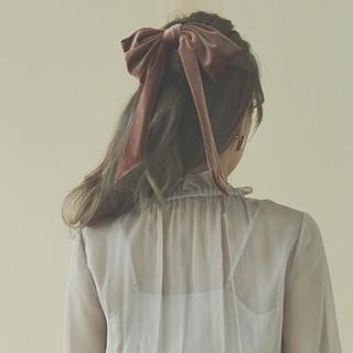 エイミーイストワール(eimy istoire)のeimy istoire☆ベロアリボンバレッタ(バレッタ/ヘアクリップ)
