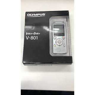 オリンパス(OLYMPUS)のOLYMPUS ボイスレコーダー ICレコーダーv-801 新品未使用(ポータブルプレーヤー)