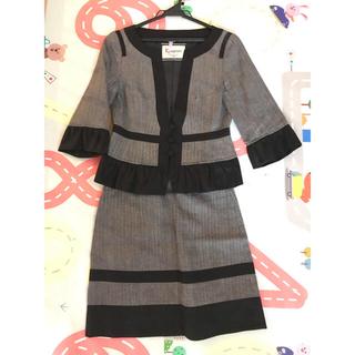 グレースコンチネンタル(GRACE CONTINENTAL)のdiagram グレースコンチネンタル スーツ 上下 美品36(スーツ)