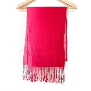 5056d837cf20 フルラ(Furla)の フルラ FURLA ストール ピンク 赤 マフラー レディース(マフラー/ショール