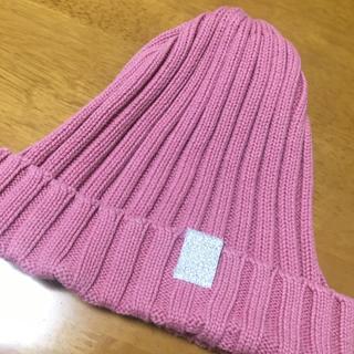 ジーユー(GU)の女児 ニット帽(帽子)