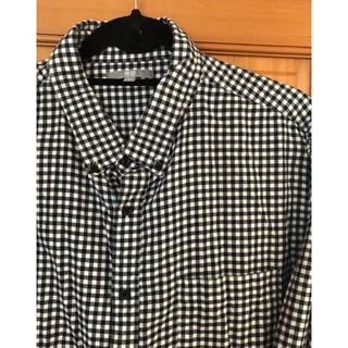 ユニクロ(UNIQLO)のユニクロ BDチェックシャツ 3XL オーバーサイズ(シャツ)