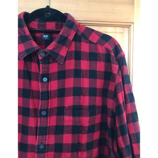 ユニクロ(UNIQLO)のユニクロ チェックシャツ オーバーサイズ XXL(シャツ)