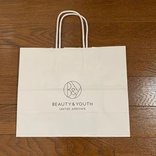 ビューティアンドユースユナイテッドアローズ(BEAUTY&YOUTH UNITED ARROWS)のBEAUTY&YOUTH UNITED ARROWS ショップ袋です(ショップ袋)