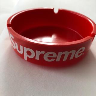 シュプリーム(Supreme)のsupreme プラスチック 灰皿  赤(灰皿)