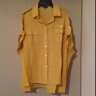 ギャップ(GAP)のサファリシャツ(シャツ/ブラウス(半袖/袖なし))