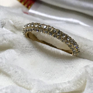 指輪✨レディース✨ジルコニア✨14kメッキ(リング(指輪))