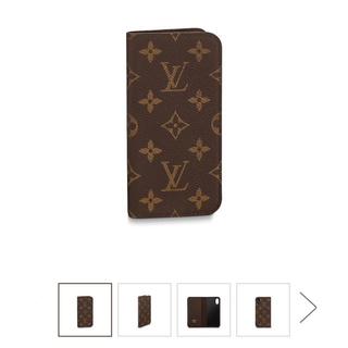ルイヴィトン(LOUIS VUITTON)のルイヴィトン♡新品iphoneカバー X&Xs(モバイルケース/カバー)