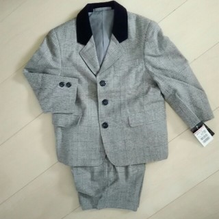 cb3864fb87d20 ファミリア(familiar)のキッズ スーツ グレンチェック 100 新品(ドレス フォーマル)