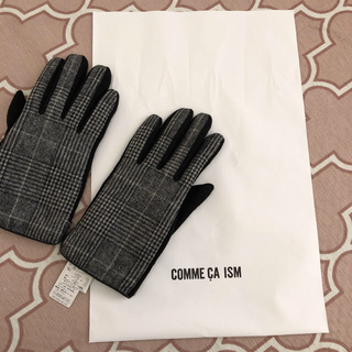 コムサイズム(COMME CA ISM)の新品未使用 タグ付き コムサイズム 手袋(手袋)