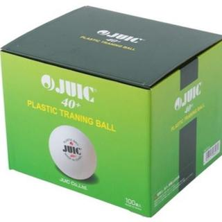 ジュウイック(JUIC)の【特価】JUIC/ジュウィック★プラスチックトレーニングボール★100球入り (卓球)