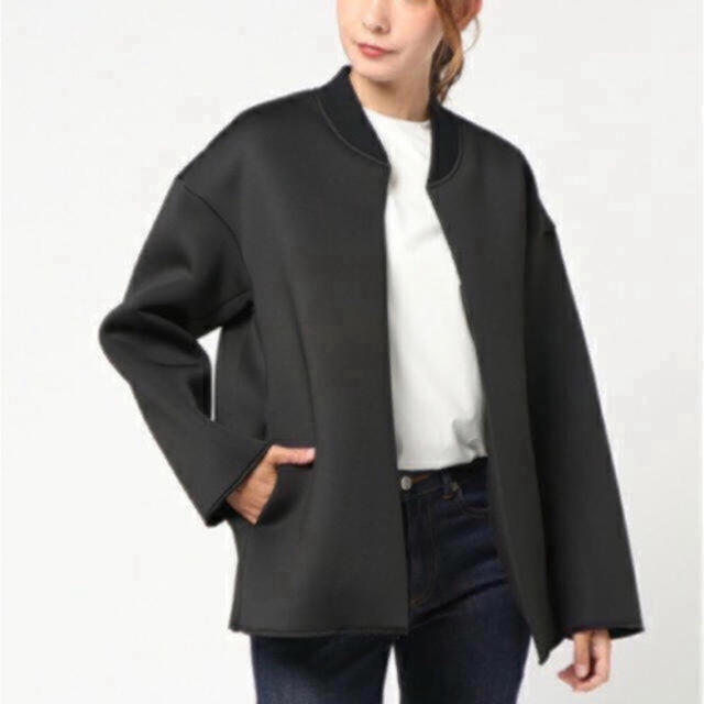 ENFOLD(エンフォルド)の限定お値下げ 新品 人気商品 RIM.ARK ライトテクスチャー ジャケット  レディースのジャケット/アウター(ノーカラージャケット)の商品写真