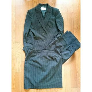 シマムラ(しまむら)の【しまむら】 スーツ 3点セット ピンクストライプ 11AR(スーツ)